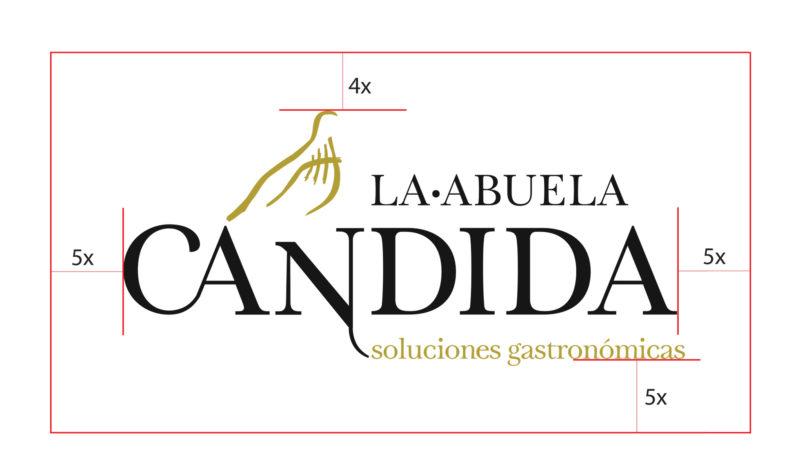 diseño de logotipo en cuenca, la abuela candida